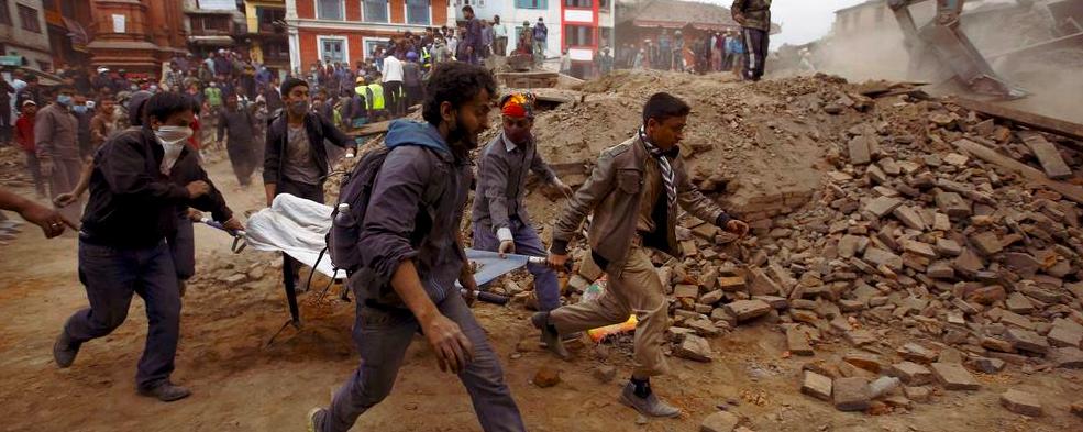 AYUDE A LAS VÍCTIMAS DEL TERREMOTO EN NEPAL